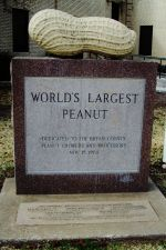 World's Largest Peanut in Durant Oklahoma